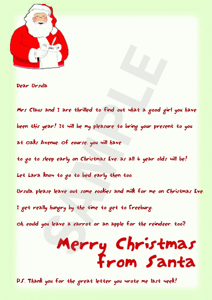 letter from santa 1 full page preview